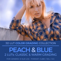 Peach & Blue LUT