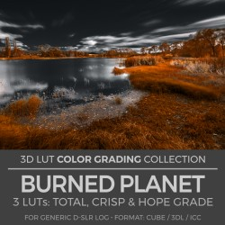 Burned Planet LUT