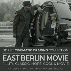 East Berlin Movie LUT