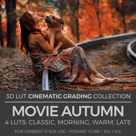 Movie Autumn LUT