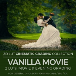 Vanilla Movie LUT