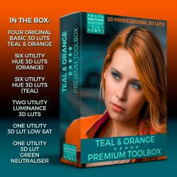 Teal & Orange Box LUT