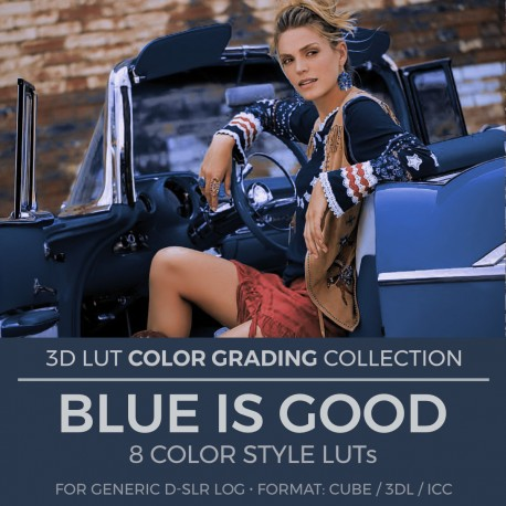 Blue Is Good LUT