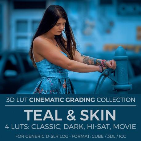 Teal & Skin LUT